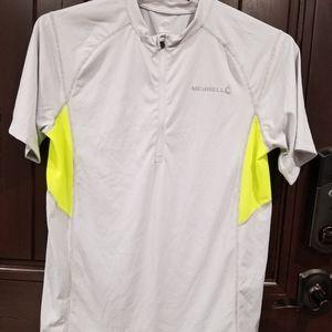 Merrell Select Wick Men's Shirt Large Grey Neon